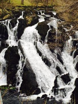 Swallows waterfalls, Wales