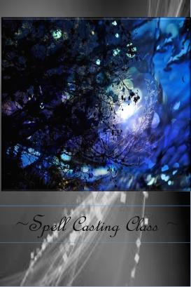 spell casting online class