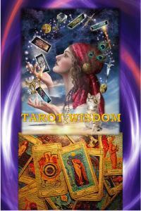 Tarot wisdom poster