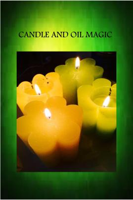 candle and oil magic cover
