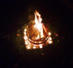 Samhain Goddess Fire