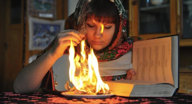 Рождественские гадания в Челябинской области