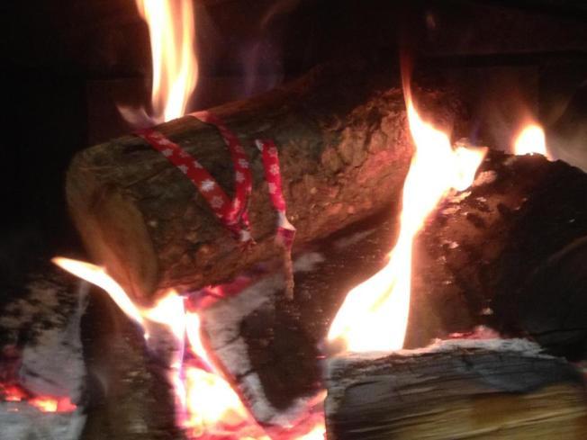 Yule log