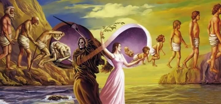death and rebirth in dreams