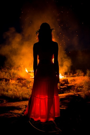 Maiden on Beltane