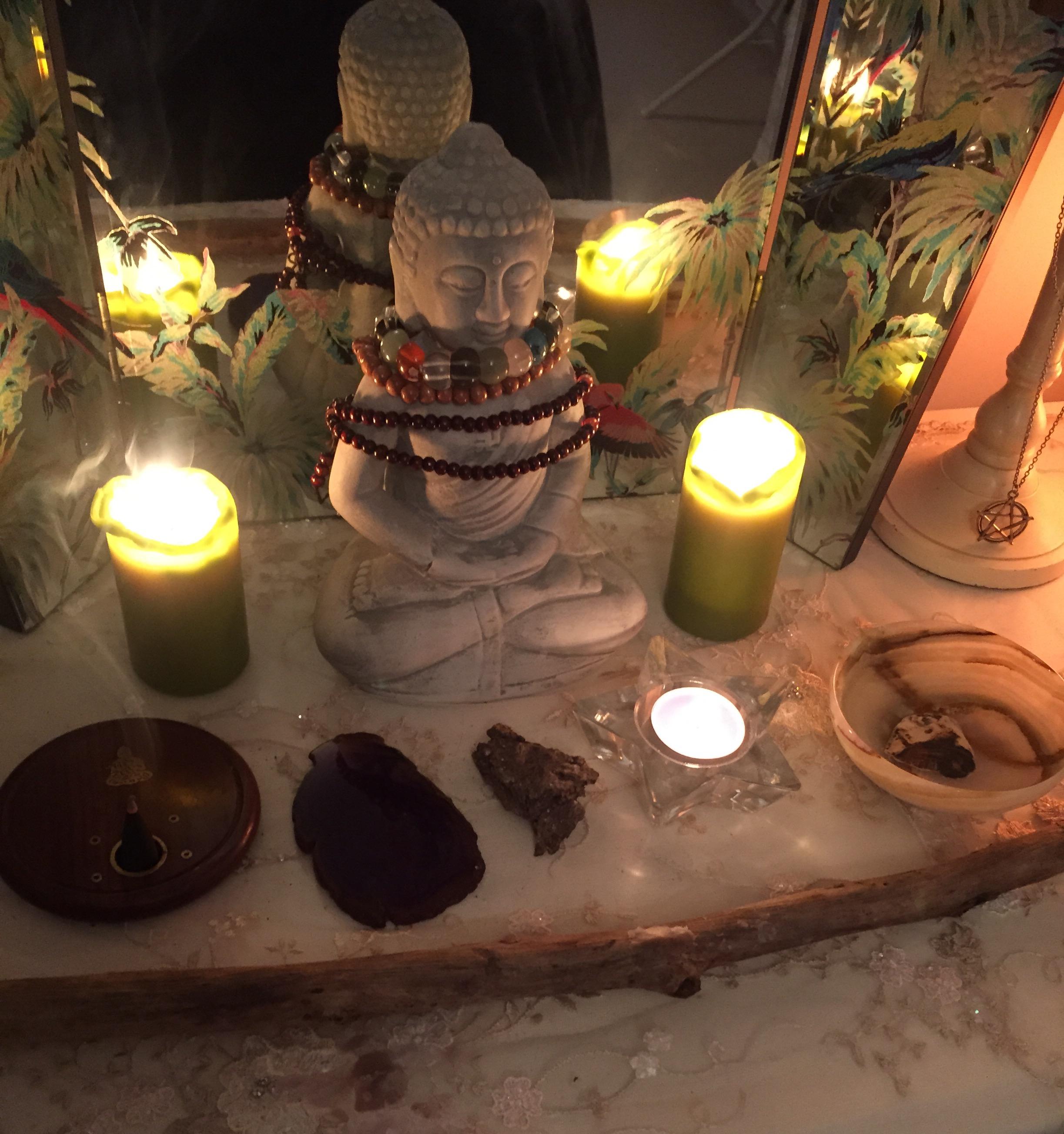 four elements altar, body healing